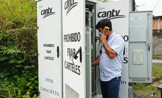 Cantv restableció servicios a 800 suscriptores de Capachito