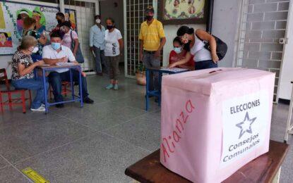 Parlamento Regional acompañó proceso de elecciones de Consejos Comunales