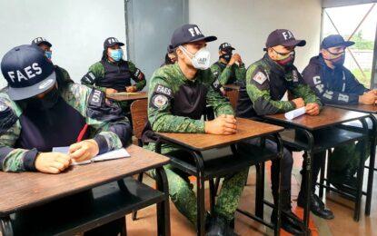 Fiscalía Superior dictó taller sobre DD.HH. a funcionarios de las FAES