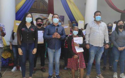 Entregan 130 títulos de Tierra Urbana en el municipio Junín del estado Táchira