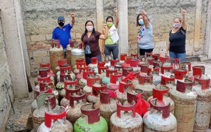 Se estabiliza despacho de gas doméstico en Táchira en unión cívico militar policial
