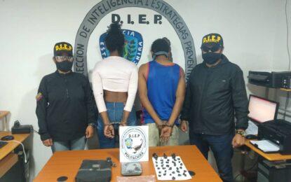 Dos capturados por narcomenudeo en la ciudad de San Cristóbal