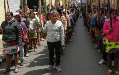 Pueblos originarios de Colombia llaman a la protesta permanente