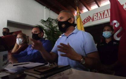"""Freddy Bernal: """"Cada vez que viene una elección se juega la patria o la antipatria"""""""