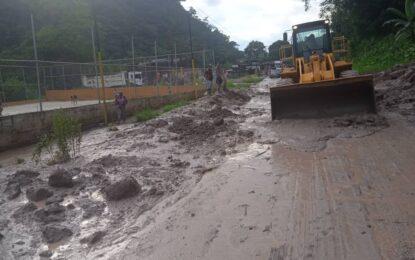 Rehabilitan paso en sector Zig Zag de la Troncal 005 en Táchira