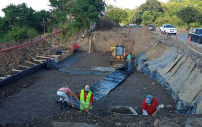 Avanza la recuperación vial del sector El Mirador