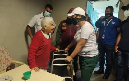 Habitantes del sector Campo Alegre recibieron medicamentos y ayudas técnicas