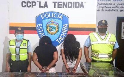 Politáchira detiene a hermanas por orden del MP en La Tendida