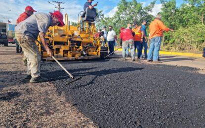 Inició Plan de Asfaltado en varios municipios del estado Táchira