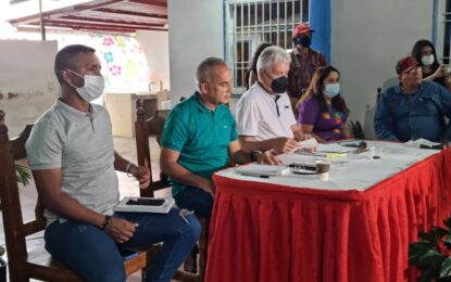 Más de 500 productores participaron en encuentro con ministro Castro Soteldo