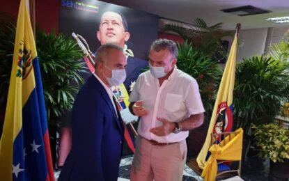 Se concretó primer encuentro formal entre autoridades del Norte Santander y del estado Táchira