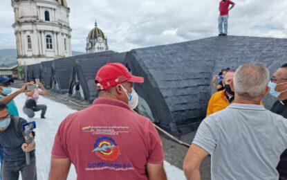 Freddy Bernal: Estamos restaurando la Iglesia San Juan Bautista