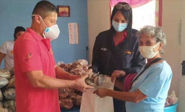 Distribuyen combos proteicos en Bases de Misiones Socialistas de Táchira
