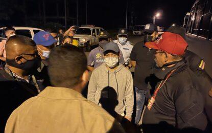 Madrugonazo contra piratas aplicaron autoridades de transito en Abejales