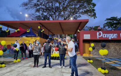 Reinaugurado Parque Murachí en el marco del Plan Amemos al Táchira