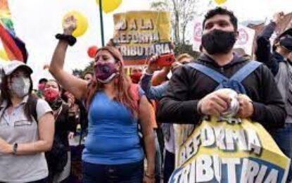 Comité Nacional de Paro anuncia nueva movilización en Colombia en rechazo a medidas del Gobierno