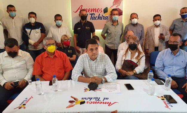 Plataforma electoral Amemos al Táchira apoya Plan de Gobierno del candidato Freddy Bernal