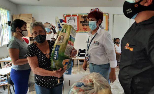 Bolsa de alimentos son distribuidas en Bases de Misiones Socialistas del Táchira