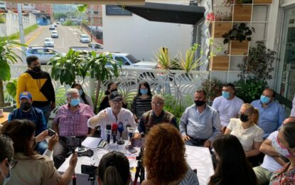 Se siguen sumando sectores a la Plataforma Electoral Amemos al Táchira